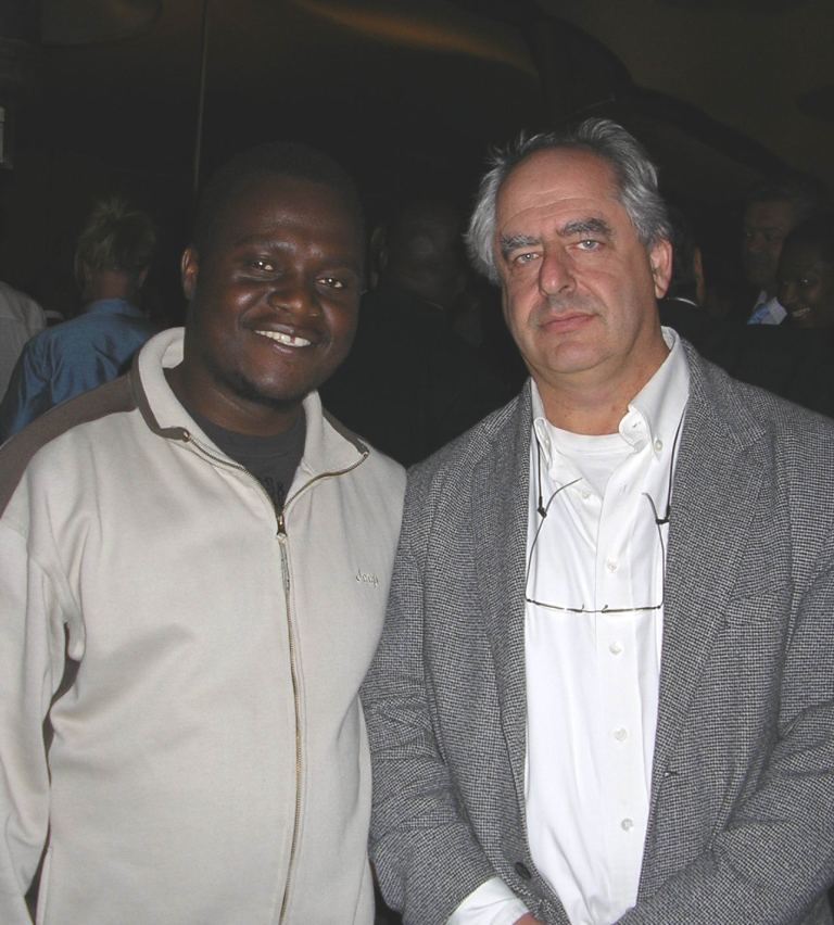 Edward Selematsela and William Kentridge Urban age exhibition 2006